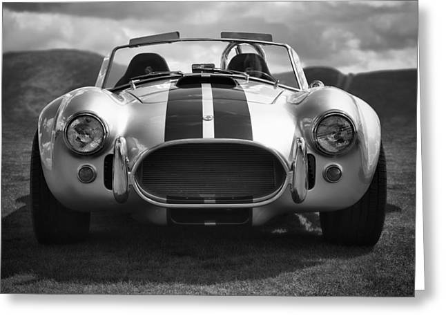 Shelby Greeting Cards - AC Cobra 427 Greeting Card by Sebastian Musial