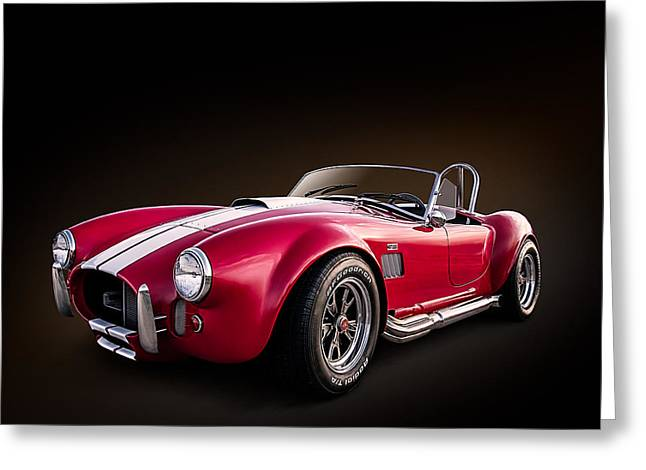 Auto Greeting Cards - AC Cobra Greeting Card by Douglas Pittman