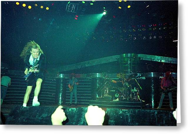 Acdc Greeting Cards - Acdc Greeting Card by Sheryl Chapman Photography