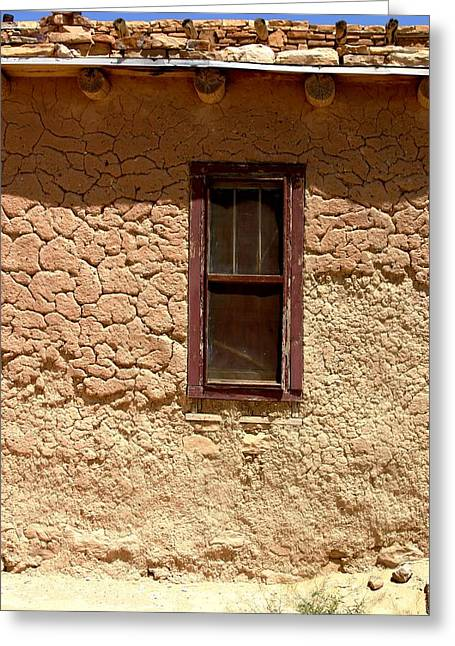 Pueblo Architecture Greeting Cards - Acoma Pueblo Greeting Card by Joe Kozlowski