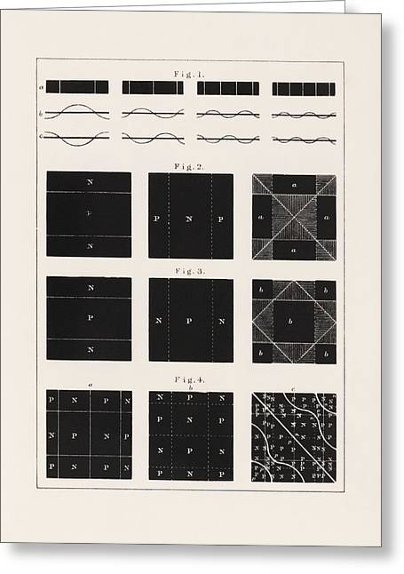 Sir Charles Greeting Cards - Acoustic vibration patterns, 19th Greeting Card by Science Photo Library