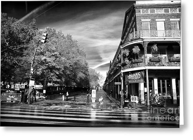 Photographers Decatur Greeting Cards - Across Decatur Greeting Card by John Rizzuto