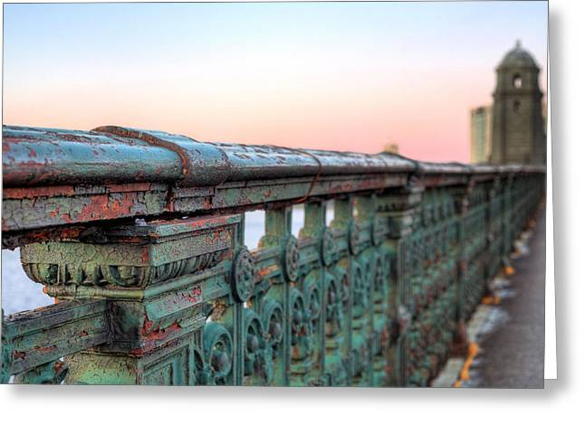 Across the Charles  Greeting Card by JC Findley