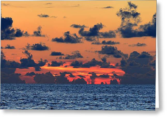 Ocean Art Photography Greeting Cards - Across the great blue waters Greeting Card by David Lee Thompson