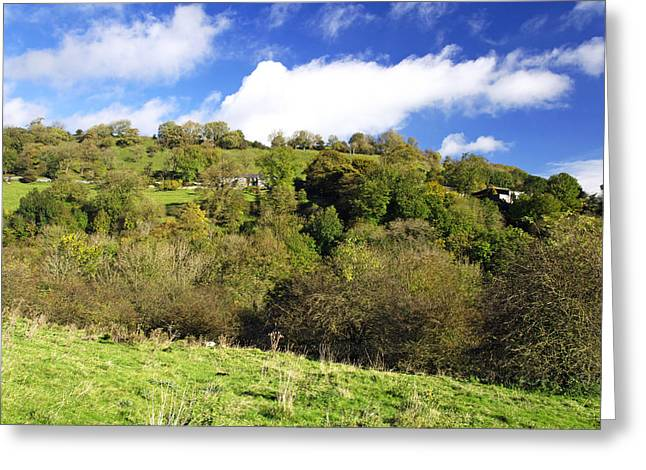 Hills Greeting Cards - Across The Southern End of Monks Dale Greeting Card by Rod Johnson