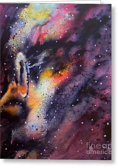 Awakening Greeting Cards - Across The Universe Greeting Card by Robert Hooper