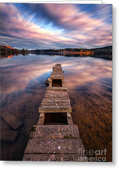 Visitscotland Greeting Cards - Across The Water Greeting Card by John Farnan