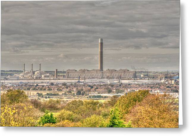 Minster Abbey Greeting Cards - Across To Grain Greeting Card by Dave Godden