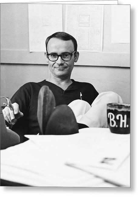 Creative People Greeting Cards - Actor Buck Henry Greeting Card by Underwood Archives