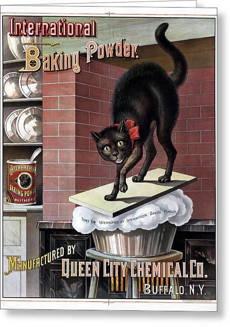 Ad Baking Powder, C1885 Greeting Card by Granger