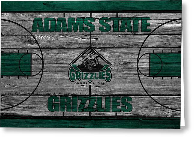 Division Greeting Cards - Adams State Grizzlies Greeting Card by Joe Hamilton