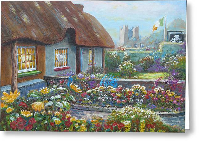 Adare Gardens Co Limerick Greeting Card by Tomas OMaoldomhnaigh