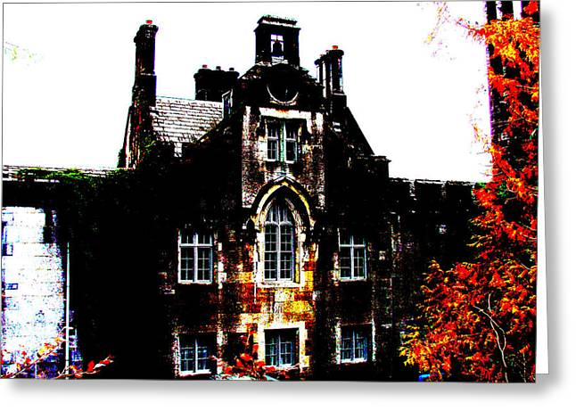 Altered Architecture Greeting Cards - Adare Manor Greeting Card by Charlie and Norma Brock