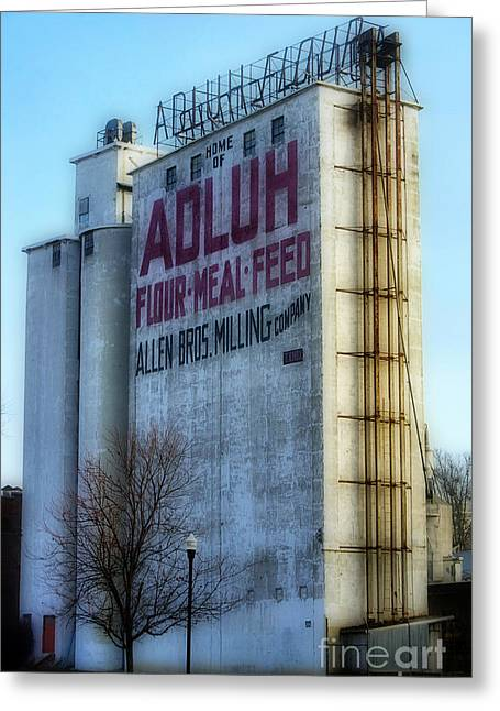 Adluh Flower Mill Greeting Card by Skip Willits
