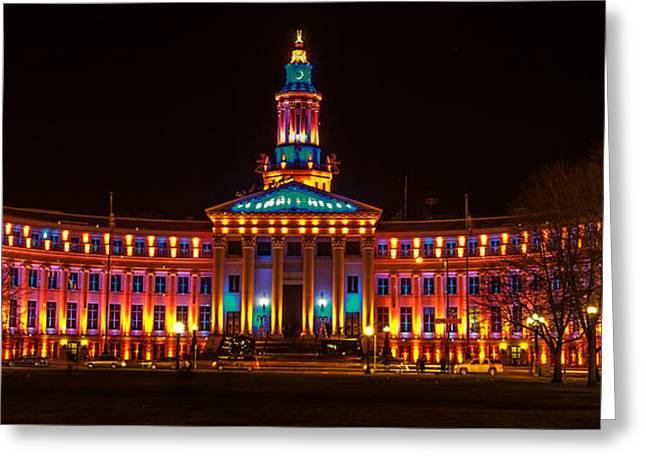 Division Greeting Cards - Administrative Building Greeting Card by Steven Reed