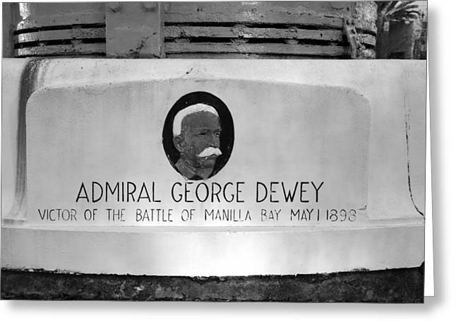 Photogaphy Greeting Cards - Admiral Dewey monument Greeting Card by David Lee Thompson