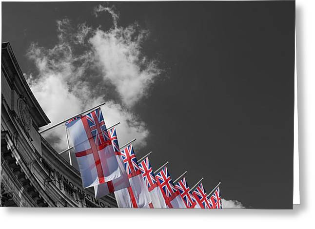Admiralty Arch London Greeting Card by Mark Rogan
