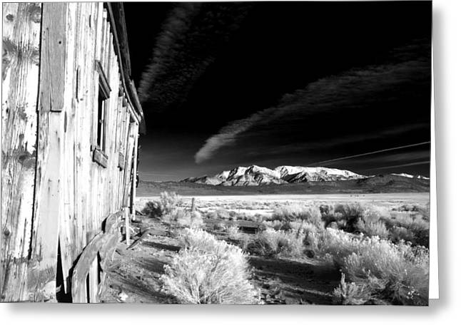 Black History Greeting Cards - Adobe Valley Shack Greeting Card by Cat Connor