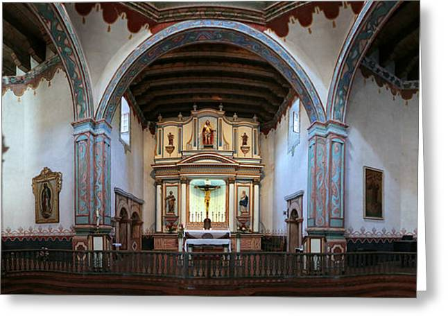 Adoration - Mission San Luis Rey De Francia  Greeting Card by Stephen Stookey
