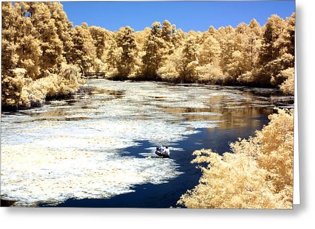 Canoe Greeting Cards - Adventure Greeting Card by Bob Pomeroy