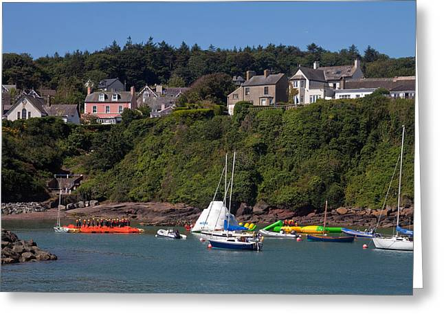 Canoeing Photographs Greeting Cards - Adventure Center Instruction, Dunmore Greeting Card by Panoramic Images
