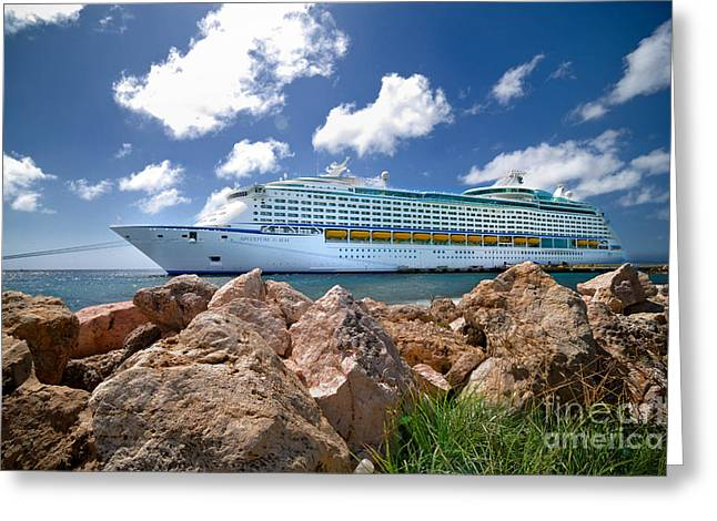 Royal Caribbean Greeting Cards - Adventure of the Seas Greeting Card by Amy Cicconi