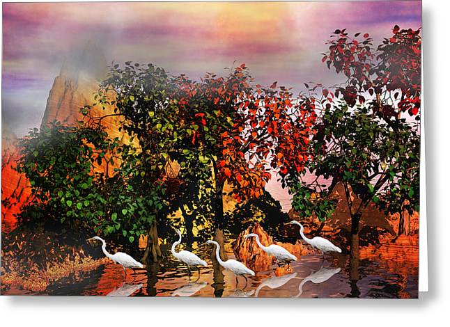 Adventure Pros Greeting Card by Betsy C  Knapp