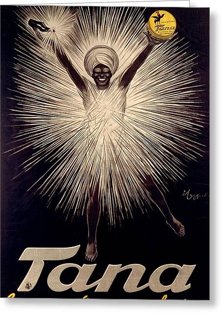 1920s Drawings Greeting Cards - Advertisement for Tana shoe polish Greeting Card by  Leonetto Cappiello