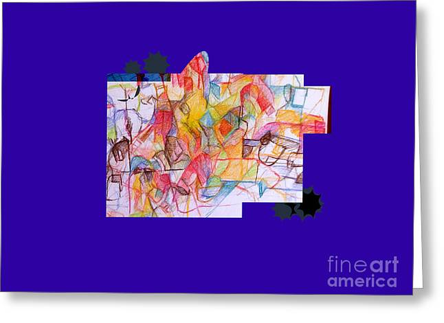 Inner Self Greeting Cards - Advertisement of self 1a 2nd Greeting Card by David Baruch Wolk