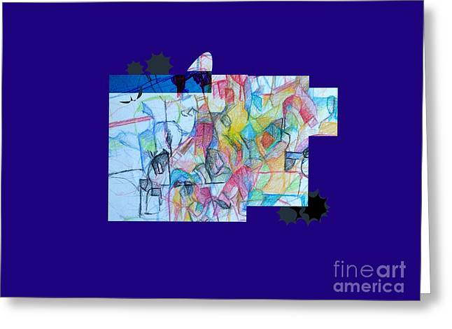 Inner Self Greeting Cards - Advertisement of self 1a Greeting Card by David Baruch Wolk