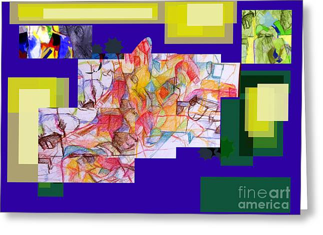 Inner Self Greeting Cards - Advertisement of self 2 Greeting Card by David Baruch Wolk