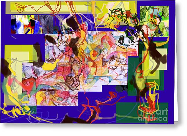 Inner Self Greeting Cards - Advertisement of self 2 two Greeting Card by David Baruch Wolk
