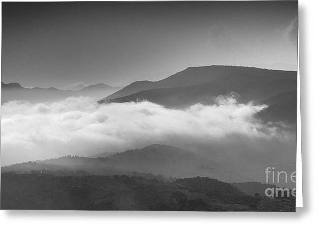 Aerial Mist Greeting Card by Guido Montanes Castillo