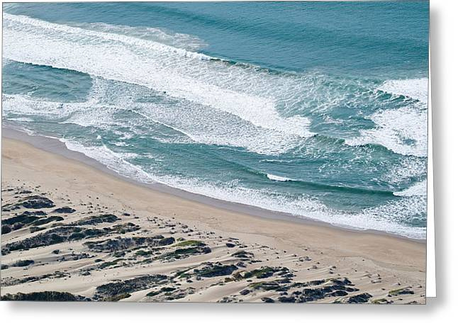 California Beach Image Greeting Cards - Aerial View Of Pismo Beach, San Luis Greeting Card by Panoramic Images