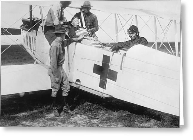 Aero-ambulance Greeting Card by Library Of Congress
