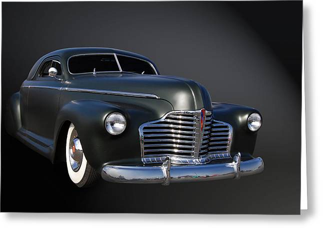 Cruisin For A Cure Greeting Cards - Aero Buick Greeting Card by Bill Dutting