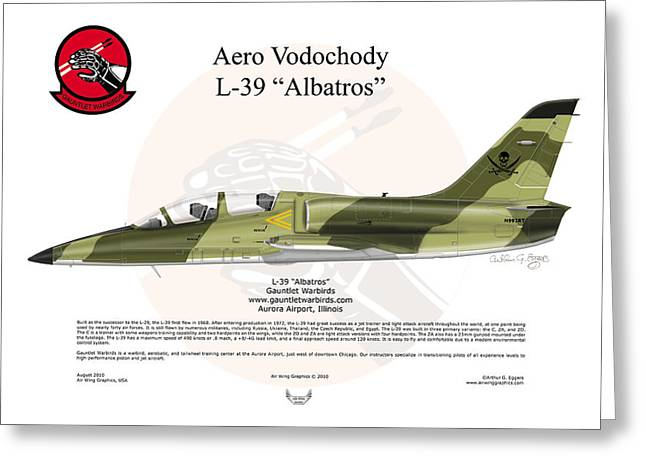 Steve Eggers Greeting Cards - Aero Vodochody Albatros Greeting Card by Arthur Eggers
