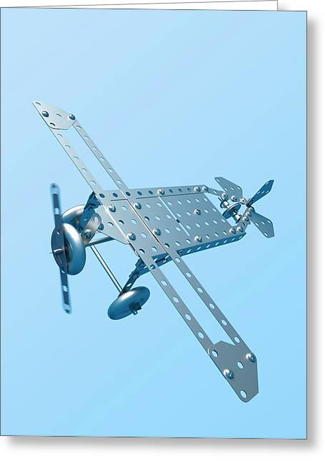 Aeronautical Engineering Greeting Card by David Parker