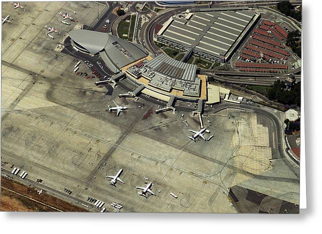 Airport Terminal Greeting Cards - Aeropuerto De Valencia Greeting Card by Blom ASA