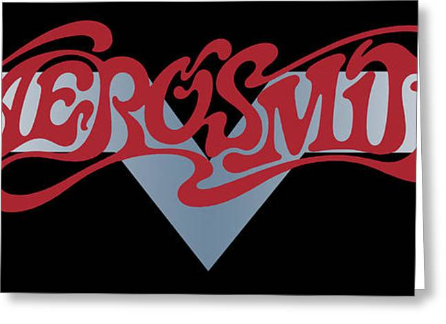 Music Greeting Cards - Aerosmith - Dream On Banner 1973 Greeting Card by Epic Rights