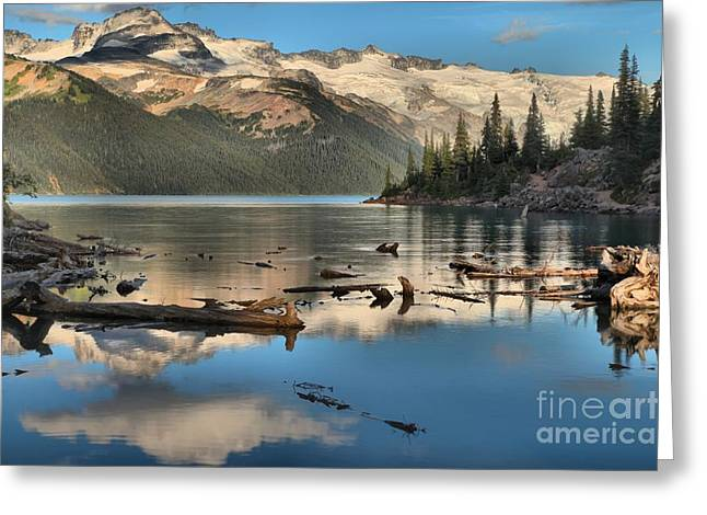 Candian Greeting Cards - Afernoon Reflections At Garibaldi Greeting Card by Adam Jewell