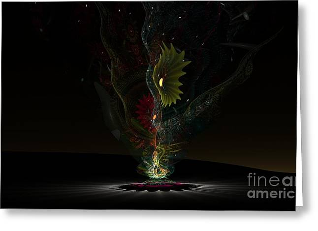 Affinity Greeting Card by Peter R Nicholls