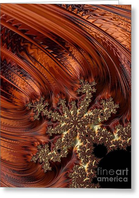 Harvest Art Digital Art Greeting Cards - After Autumn Comes Winter  Greeting Card by Heidi Smith