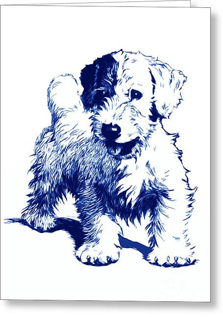 Aldin Drawings Greeting Cards - After Cecil Aldin Greeting Card by   Alex