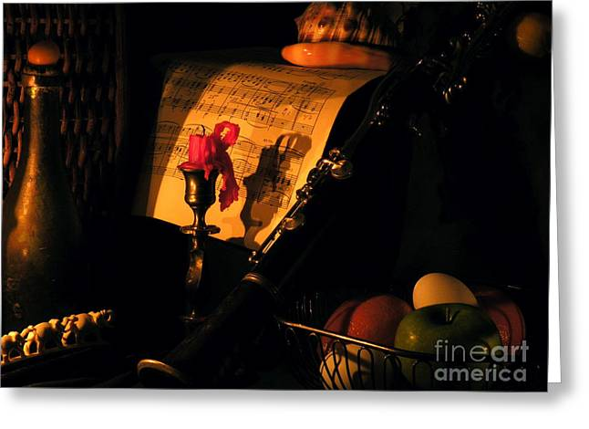 Red Wine Prints Greeting Cards - After Glow Greeting Card by Joe Jake Pratt