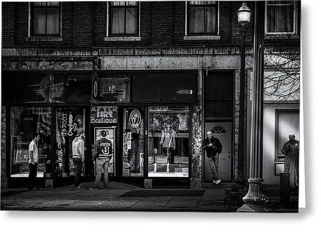 After Hours  Greeting Card by Bob Orsillo