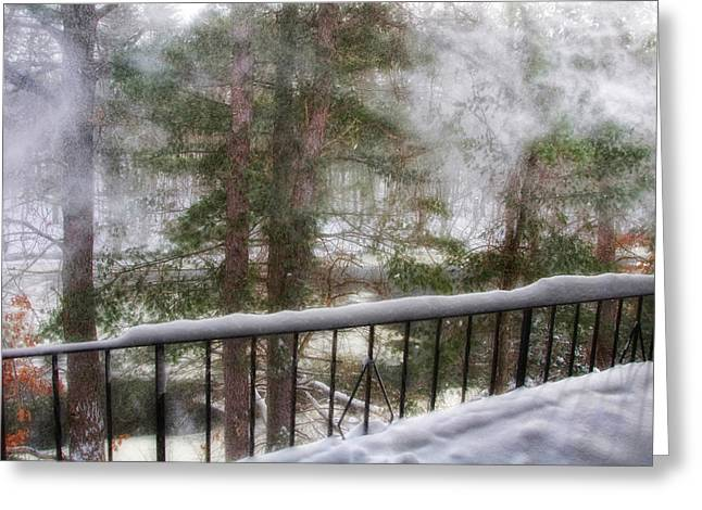 Snow Drifts Greeting Cards - After Nemo 2 Greeting Card by Joann Vitali