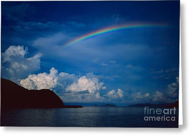 Dark Skies Greeting Cards - After storm Greeting Card by Aiolos Greek Collections