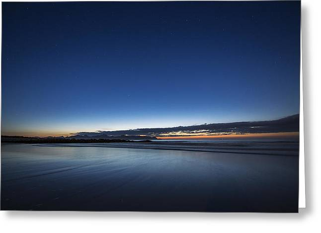 Norway Beach Greeting Cards - After sunset Greeting Card by Frank Olsen