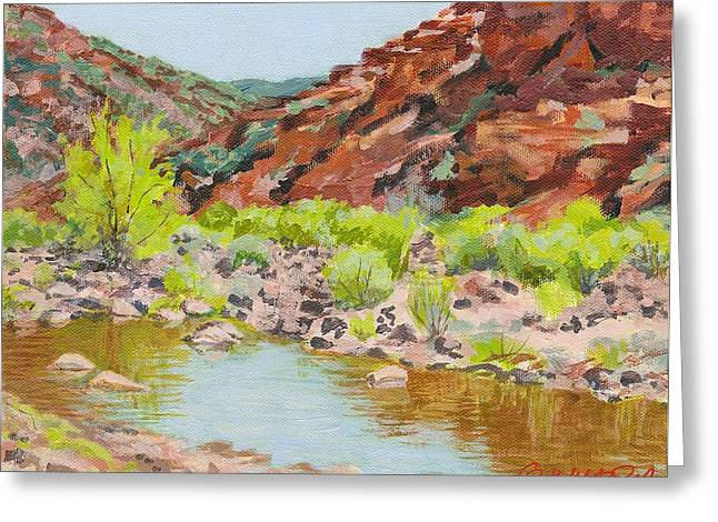 Table Mesa Greeting Cards - After the Rain at Table Mesa Greeting Card by Gurukirn Khalsa